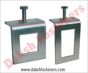 channel thru beam clamps - window beam clamp - strut beam clamp manufacturers exporters india