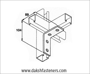 strut channel brackets - bracketry - mending plates - angle brackets manufacturers exporters india