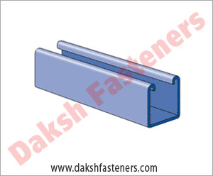 strut channel - slotted strut channel - double channel manufacturers exporters india